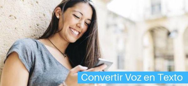 programas y apps para convertir voz en texto