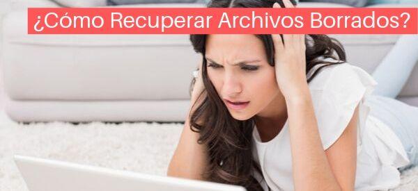 recuperar archivos borrados del disco duro